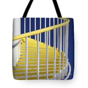 Yellow Steps On Tank Tote Bag
