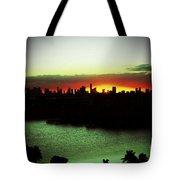 Yellow Sun Tote Bag