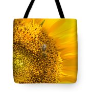 Yellow Sunflower - Detail Tote Bag