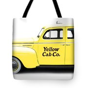 Yellow Taxi Cab Tote Bag