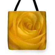 Yellow Tea Rose Tote Bag by John Pitcher