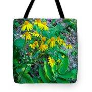 Yellow Tilt Tote Bag