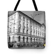 Yellow Tram Tote Bag