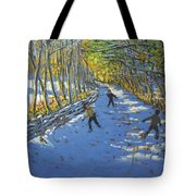 Yellow Trees  Allestree Park Tote Bag