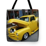 Yellow Truck Tote Bag