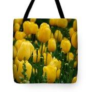 Yellow Tulip Sea Tote Bag