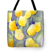 Yellow Tulips 1 Tote Bag