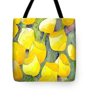 Yellow Tulips 2 Tote Bag