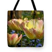 Yellow Tulips Tote Bag