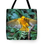 Yellow Warbler Dendroica Petechia Tote Bag