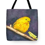 Yellow Warbler II Tote Bag