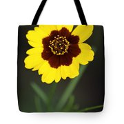 Yellow Wild Flower Tote Bag