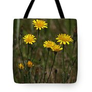 Yellow Wild Flowers Along The Chehalis Trail Tote Bag