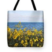 Yellow Wind Tote Bag