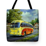 Yelloways Seagull Coach. Tote Bag