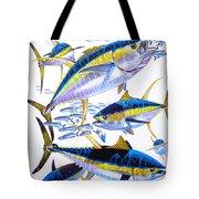 Yellowfin Run Tote Bag