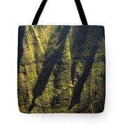 Yellows And Greens  Tote Bag