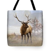 Yellowstone Bull Elk Tote Bag