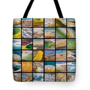 Yellowstone Colors Tote Bag