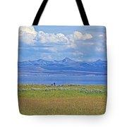 Yellowstone Lake In Yellowstone National Park-wyoming- Tote Bag