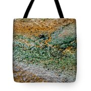 Yellowstone Living Thermometer Abstract Tote Bag
