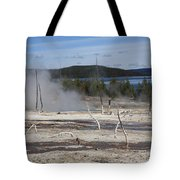 Yellowstone National Park - Hot Springs Tote Bag
