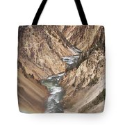 Yellowstone National Park Montana  3 Panel Composite Tote Bag