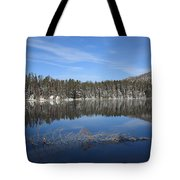 Yellowstone National Park - Mountain Lake Tote Bag