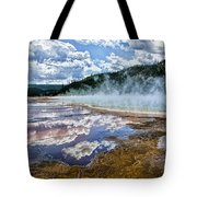 Yellowstone - Springs Tote Bag