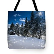Yellowstone Sunshine Tote Bag