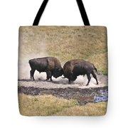 Yellowstone Turf War Tote Bag