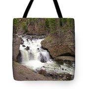 Yellowstone Waterfalls Tote Bag