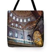 Yeni Valide  Camii Mosque Istanbul Turkey Tote Bag