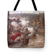 Yermaks Conquest Of Siberia Tote Bag