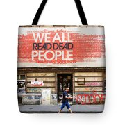 Yes We Do Tote Bag by Joanna Madloch