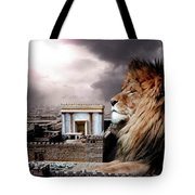 Yeshua In The Outer Court Tote Bag