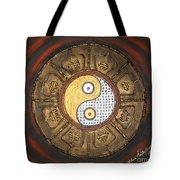 Yin Yang Balance Tote Bag