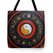 Yin Yang Energy Tote Bag