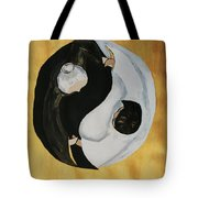 Yin Yang  Generations Hand In Hand Tote Bag