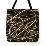Yin-yang Tote Bag by Luke Moore