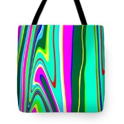 Yipes Stripes II Variation  C2014 Tote Bag