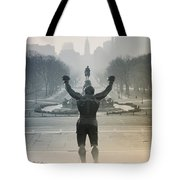 Yo Adrian Tote Bag by Bill Cannon