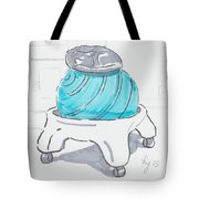 Yoga Ball Cartoon Tote Bag