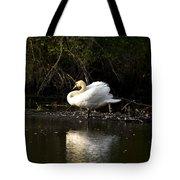 Yogi Swan Tote Bag
