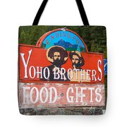 Yoho Brothers Tote Bag
