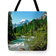 Yoho River In Yoho Np-bc Tote Bag