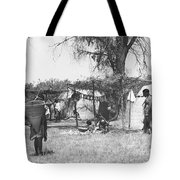 Yokut Indian Homes Tote Bag