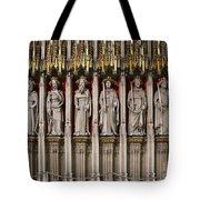 York Minster Statues 6100 Tote Bag
