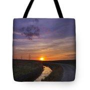 Yorkshire Sunset  Tote Bag