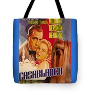 Yorkshire Terrier Art Canvas Print - Casablanca Movie Poster Tote Bag